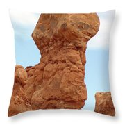 Arches Formation 26 Throw Pillow