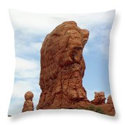 Arches Formation 27 Throw Pillow