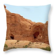 Arches Formation 29 Throw Pillow
