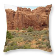 Arches Formation 31 Throw Pillow