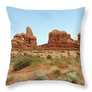 Arches Formation 33 Throw Pillow
