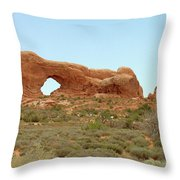 Arches Formation 34 Throw Pillow