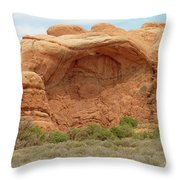 Arches Formation 36 Throw Pillow