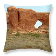 Arches Formation 37 Throw Pillow