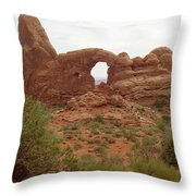 Arches Formation 39 Throw Pillow