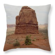 Arches Formation 5 Throw Pillow