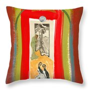 Arches From Heaven Throw Pillow