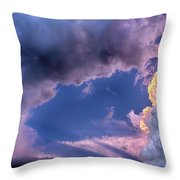Arches In The Sky Throw Pillow