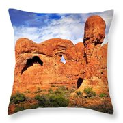 Arches Landscape 3 Throw Pillow