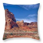 Arches Nat Park Utah  Throw Pillow
