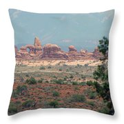 Arches National Park 20 Throw Pillow