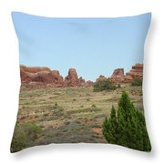 Arches National Park 21 Throw Pillow