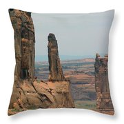 Arches National Park 5 Throw Pillow