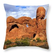 Arches National Park 8 Throw Pillow