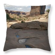 Arches National Park Park Avenue  Throw Pillow