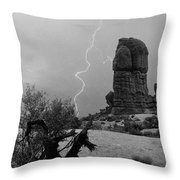 Arches National Park Utah-signed Throw Pillow
