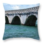 Arches Of The Bridge Throw Pillow