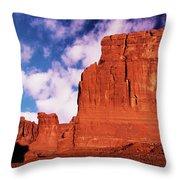 Arches Pano Throw Pillow