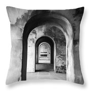 Arches Throw Pillow by Trevor Wintle
