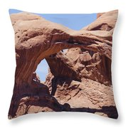 Arches-windows Throw Pillow