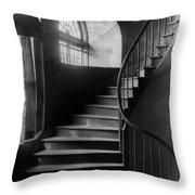Arching Stairwell Throw Pillow