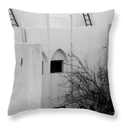 Arching Up Throw Pillow