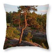 Archipelago Sunset Throw Pillow