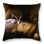 Architect - The Drafting Table  Throw Pillow