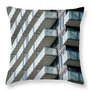 Architectural Abstract - 231 Throw Pillow