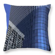 Architectural Abstract - 424 Throw Pillow
