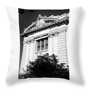 Architectural Building Throw Pillow