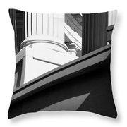 Architectural Columns Throw Pillow