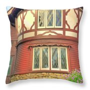 Architectural Design Throw Pillow