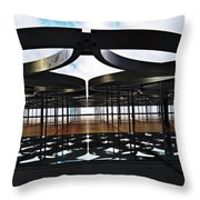 Architectural Detail Abstract Throw Pillow