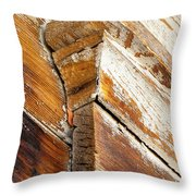 Architectural Detail At Bodie 1 Throw Pillow