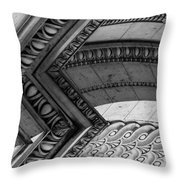 Architectural Details Of The Arc Throw Pillow