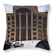 Architectural Differences Roanoke Virginia Throw Pillow