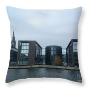 Architectural Dominance Throw Pillow