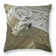 Architectural Element Throw Pillow