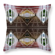 Architectural Nightmare II Throw Pillow