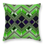 Architectural Nightmare IIi Throw Pillow