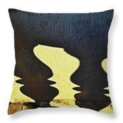 Architectural Shadows Throw Pillow