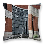 Architecture And Reflections Throw Pillow