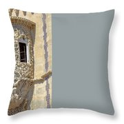 Architecture Background Sintra Throw Pillow