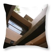 Architecture Fallingwater  Throw Pillow