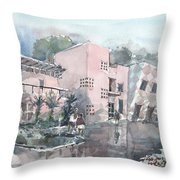 Architecture In Tampa Throw Pillow