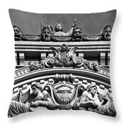 Architecture Industrie B-w Throw Pillow