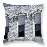 Architecture Of A Small Town2 Throw Pillow