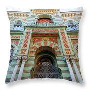 Architecture Of Odessa 3 Throw Pillow