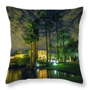 Architecture Of Residential Scottsdale Throw Pillow